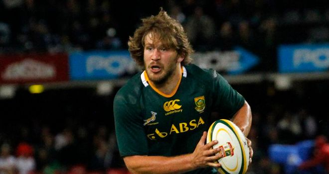 Francois Steyn: South Africa centre to undergo ankle operation