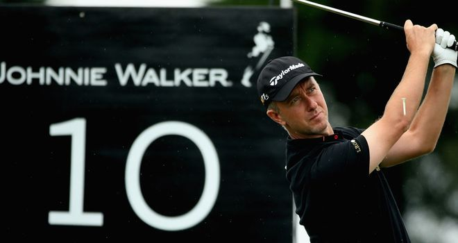 Mark Foster: Joint leader at Gleneagles
