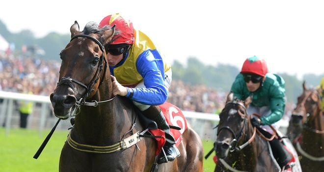 William Buick: Rode Gordon Lord Byron