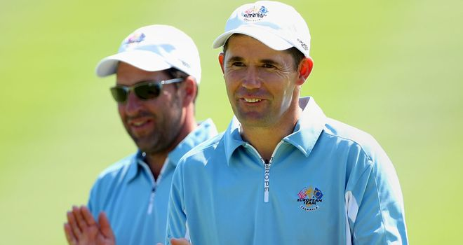 Padraig Harrington: Doesn't appear to be top of Olazabal's list
