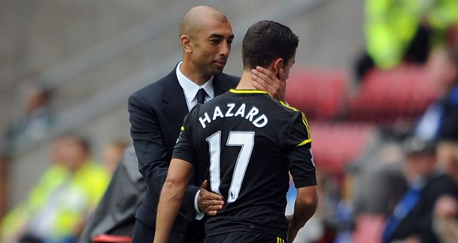 Eden Hazard: Tipped to shine by Chelsea boss Roberto Di Matteo