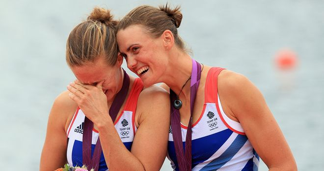 Helen Glover and Heather Stanning: History makers