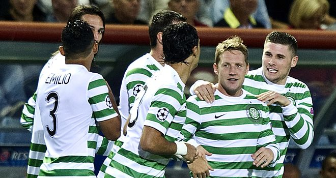 Kris Commons: An injury concern for Celtic's Champions League tie against Helsingborgs