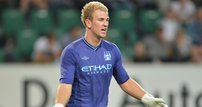 Joe Hart: Manchester City keeper bemoaned their exit from the Champions League