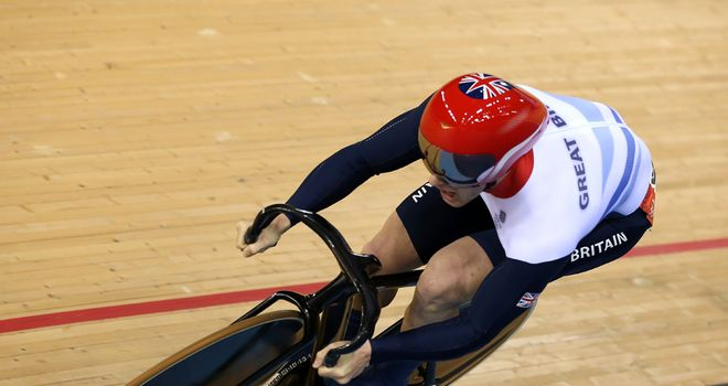 Jason Kenny: Looked unstoppable as he comfortably progressed into the semi-finals
