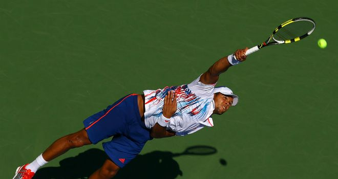 Jo-Wilfried Tsonga: 41 winners and 36 unforced errors