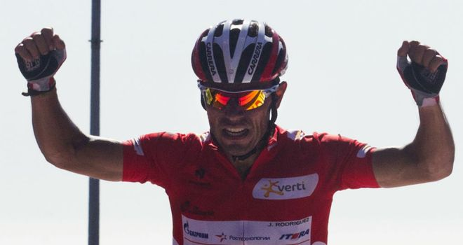 Joaquim Rodriguez: Proved unstoppable once again on a steep summit finish