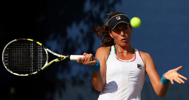 Johanna Konta: Through to the second round of qualifying for the Australian Open