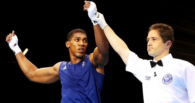 Anthony Joshua: will fight Italy&#39;s Roberto Cammarelle in the final