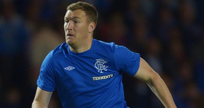 Kevin Kyle: Rangers striker makes his debut for his new club