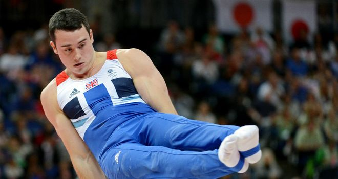 Kristian Thomas: won team bronze at London 2012