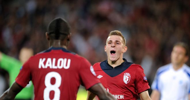 Lucas Digne: Lille full-back is in no rush to leave after being linked with a move to Chelsea