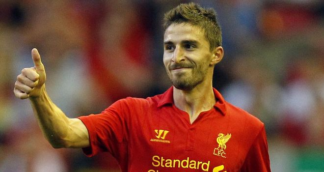 Fabio Borini: Happy at Liverpool despite losing his Italy place