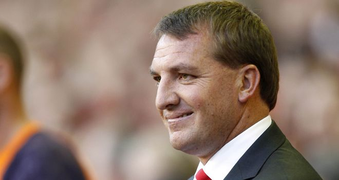 Brendan Rodgers: Aiming high for Liverpool