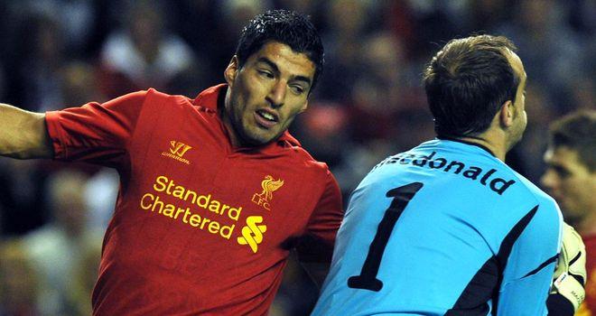 Suarez: Scored crucial late goal