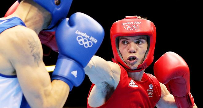 Luke Campbell: Edged out his Bulgarian quarter-final foe