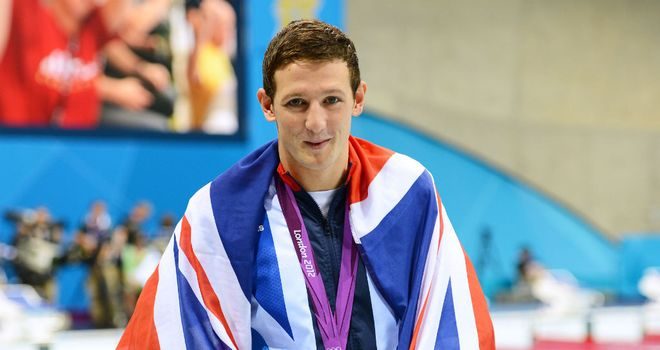 Michael Jamieson: claimed a silver medal at the London 2012 Games