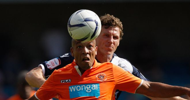 Alex Baptiste: Says Blackpool need to start climbing league