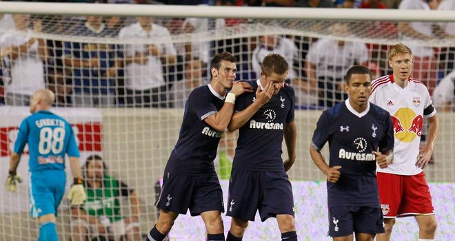 Gareth Bale: Returned to scoring form against New York Red Bulls