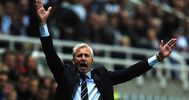 Alan Pardew: Thrilled to grab a point after second-half fightback against Everton