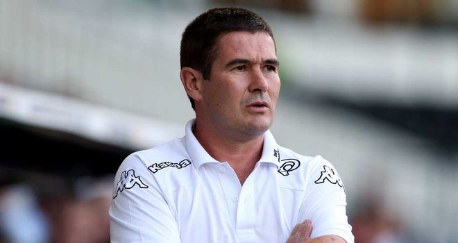 Nigel Clough: Set to lose Buxton for two months