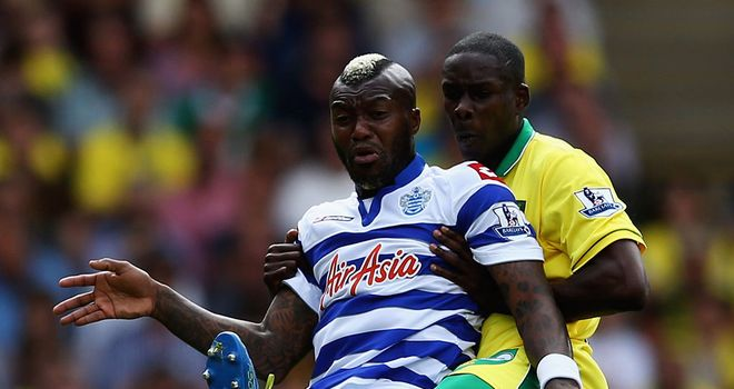 Djibril Cisse: Helped Queens Park Rangers to pick up a point at Norwich