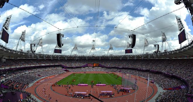 Olympic Stadium: West Ham are hoping to move in after the 2012 Games