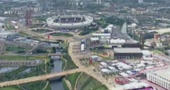 Olympic Park: The deconstruction programme is now underway