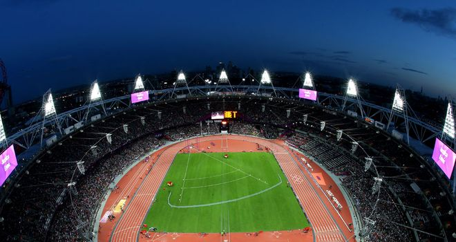 Olympic Stadium in London: To stay closed until 2015 - at least