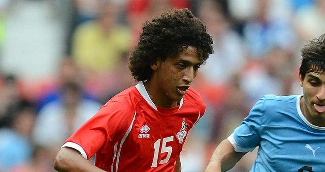 Omar Abdulrahman: Looking to impress during a trial spell at Manchester City