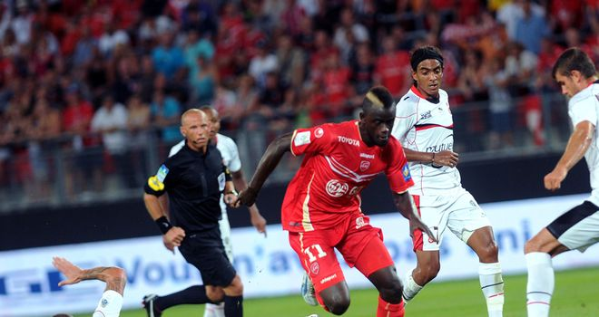 Pape Abdou Camara in action for Valenciennes