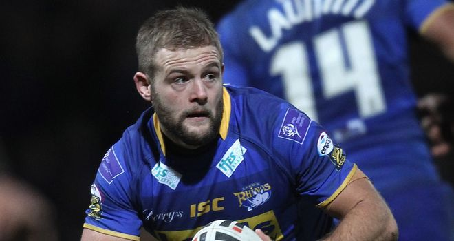 Paul McShane: Brings end to long association with Leeds Rhinos