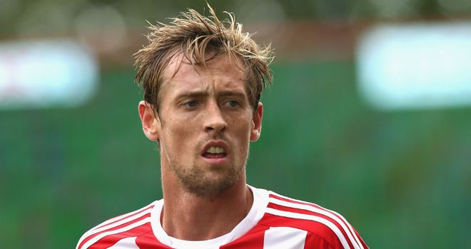 Peter Crouch: Pleased with how Stoke have fared so far this season