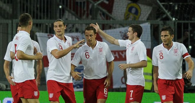 Phil Jagielka: Netted his first international goal as England beat Italy 2-1