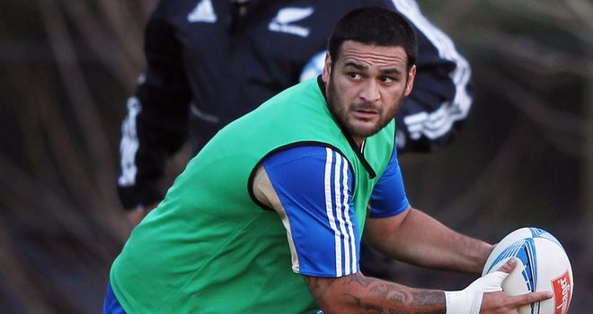 Piri Weepu: takes the place of Aaron Smith, who has started the previous six All Blacks Tests this year