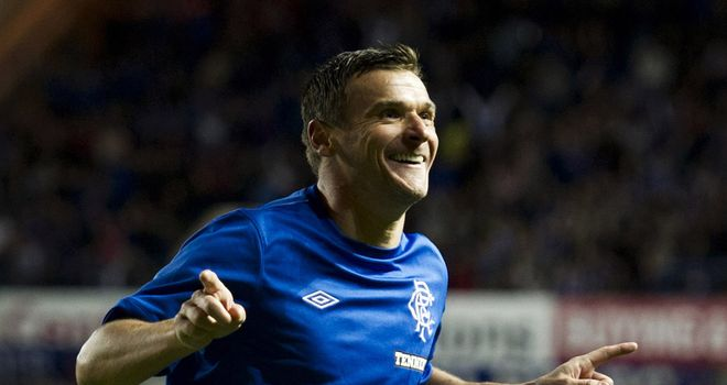 Wise old head: McCulloch is the senior figure in a youthful Rangers side