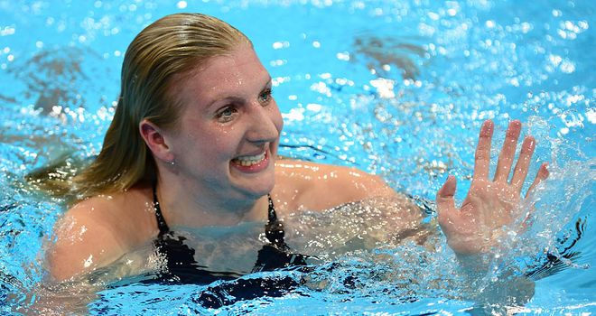 Rebecca Adlington: won four Olympic medals, including double gold in Beijing in 2008
