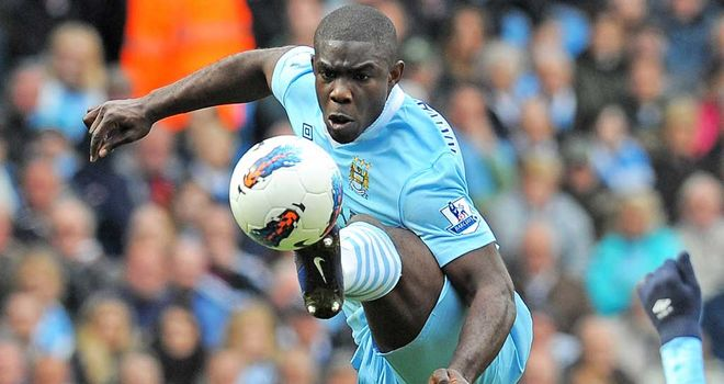 Micah Richards: Nursing an ankle complaint which has delayed his start to the season