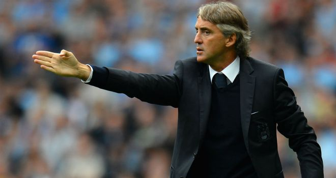 Roberto Mancini: Looking for his players, and the referee, to stand up to the unique challenge that is a trip to the Britannia Stadium