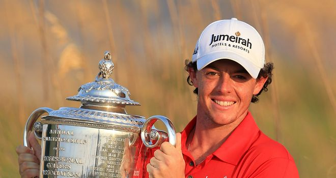 Rory McIlroy: Cemented his status as World No.1 in 2012