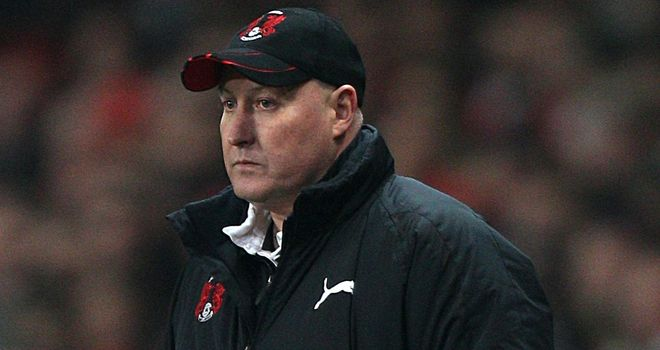 Russell Slade: Trying to remain upbeat