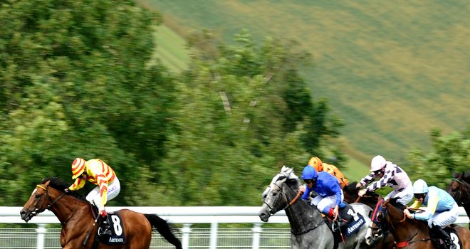 Askar Tau: Delighted his trainer at Goodwood