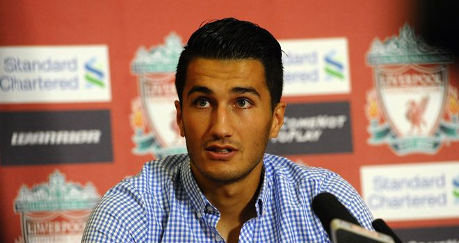 Nuri Sahin: Looking to make a positive impact during a loan spell at Liverpool