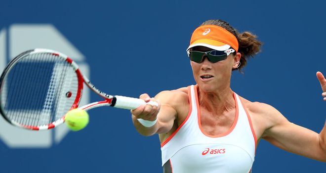Samantha Stosur: Australian came through in three sets against Virginie Razzano