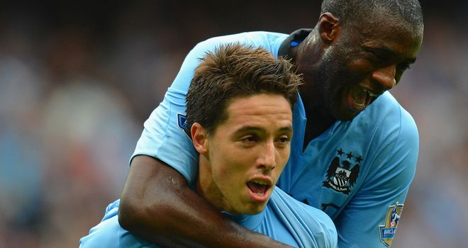 Samir Nasri: Moved to Manchester City in order to win silverware