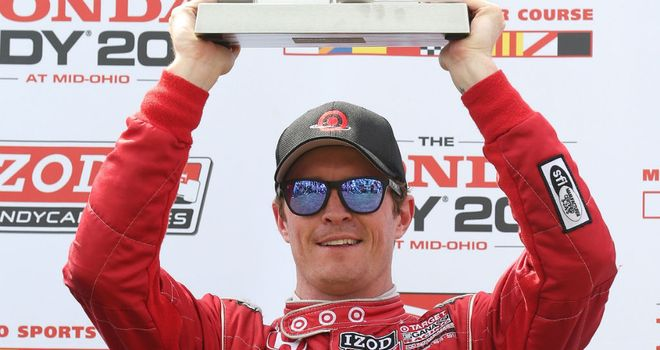 Scott Dixon: Won at Mid-Ohio for the fourth time