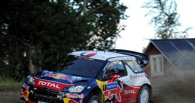 Sebastien Loeb: Will take five-second lead into the final day