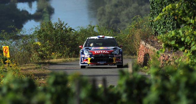 Sebastien Loeb: Top form in Germany