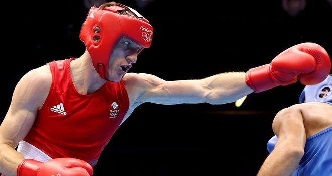 Thomas Stalker: failed to make it through to the last four in the light-welterweight divison