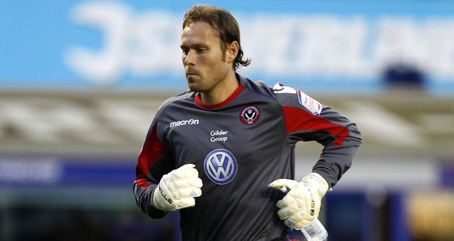 Steve Simonsen: On trial at Rangers